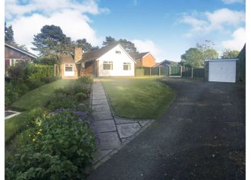 Thumbnail 3 bed bungalow for sale in Grange Close, Sandbach