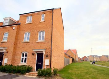 Thumbnail 3 bed town house to rent in Banks Crescent, Stamford