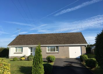 Thumbnail 3 bed detached bungalow for sale in Ffostrasol, Llandysul, Ceredigion