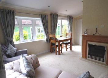 Thumbnail 2 bed mobile/park home for sale in Weavervale Park, Warrington Road, Bartington, Northwich