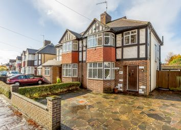 Thumbnail 3 bed semi-detached house for sale in Ancaster Crescent, New Malden