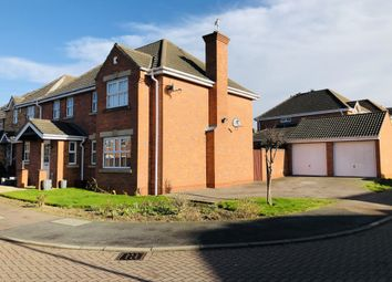 Thumbnail 4 bed detached house for sale in Stonecrop Road, Leicester