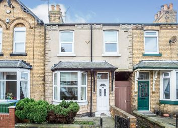 3 bed terraced house for sale in St. Johns Road, Scarborough, North Yorkshire YO12