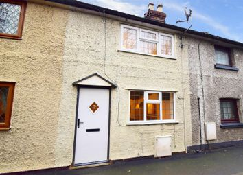Thumbnail 2 bed terraced house for sale in Ellesmere Road, Wem, Shrewsbury