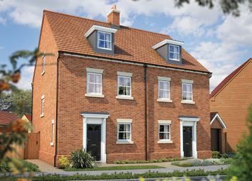 "Thumbnail 3 bed town house for sale in ""The Caddington"" at Shearwater Road, Hemel Hempstead"