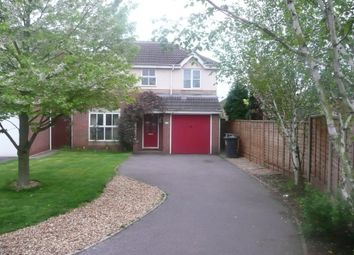 Thumbnail 4 bed detached house to rent in Greenfield Road, Measham, Swadlincote