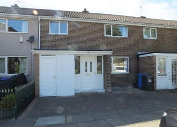 Thumbnail 3 bedroom town house to rent in Mawfa Avenue, Hemsworth, Sheffield