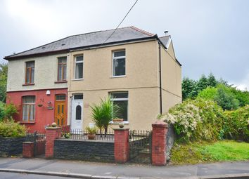 Thumbnail 3 bed semi-detached house for sale in Church Road, Gelligaer, Hengoed
