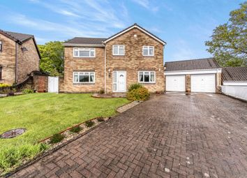 Thumbnail 5 bed detached house for sale in The Oaks, Quakers Yard, Treharris