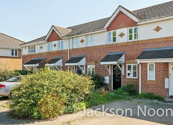 Thumbnail 2 bed terraced house for sale in Pemberley Close, West Ewell, Epsom