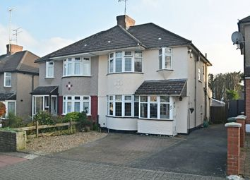 Thumbnail 3 bed semi-detached house for sale in Pleasance Road, St. Pauls Cray, Orpington