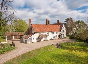 Thumbnail 5 bedroom detached house for sale in Badley, Needham Market, Suffolk