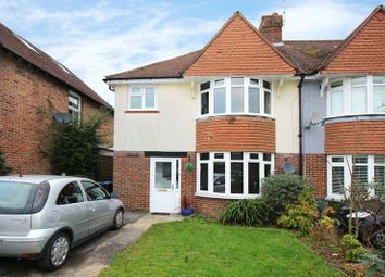 Thumbnail 3 bed semi-detached house for sale in Cranston Road, East Grinstead