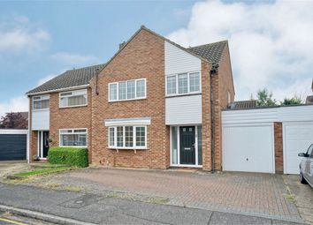 Thumbnail 3 bed semi-detached house for sale in Curlew Place, St. Neots