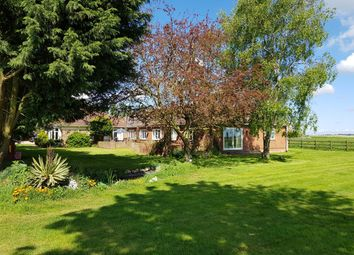 Thumbnail 6 bed detached bungalow for sale in Stow Road, Outwell, Wisbech