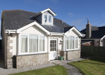 Thumbnail 4 bed detached bungalow for sale in Rame Cross, Penryn