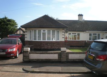 Thumbnail 2 bed bungalow to rent in Bideford Close, Westcliff-On-Sea