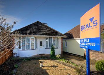 Thumbnail 2 bedroom detached bungalow for sale in Maldon Road, Southampton