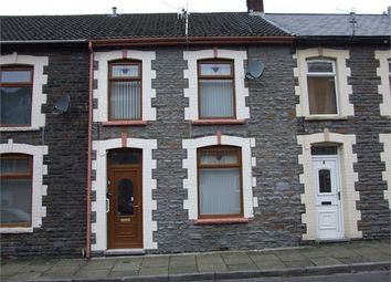 Thumbnail 2 bed terraced house for sale in William Street, Ynyshir, Porth, Rhondda Cynon Taff.