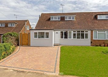 Thumbnail 4 bed semi-detached house for sale in Lattimore Road, Wheathampstead, Hertfordshire