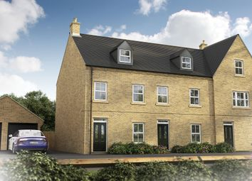 "Thumbnail 3 bedroom terraced house for sale in ""The Chastleton"" at Epsom Avenue, Towcester"