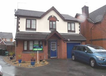Thumbnail 4 bed detached house for sale in Petunia Walk, Rogerstone, Newport