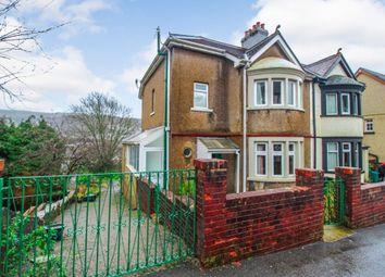 Thumbnail 3 bed semi-detached house for sale in Lan Park Road, Pontypridd, Rhondda Cynon Taff