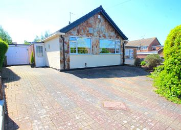 Thumbnail 3 bed detached bungalow for sale in Fairestone Avenue, Glenfield, Leicester