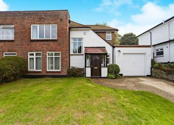 Thumbnail 3 bed semi-detached house for sale in Sanderstead Court Avenue, Sanderstead, South Croydon