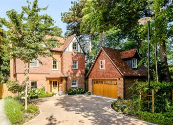 Thumbnail 5 bed detached house for sale in Queensbury Gardens, Ascot, Berkshire