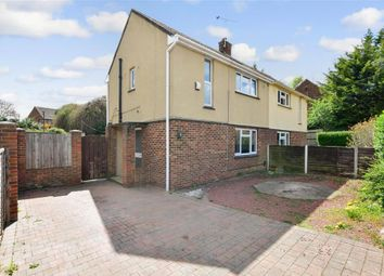 Thumbnail 2 bedroom semi-detached house for sale in Stanley Crescent, Gravesend, Kent