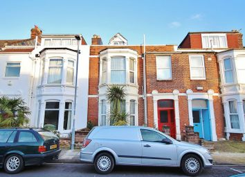 Thumbnail 4 bed terraced house for sale in Exeter Road, Southsea