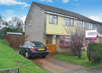 Thumbnail 3 bed semi-detached house for sale in Greenwood Drive, Cimla, Neath, West Glamorgan
