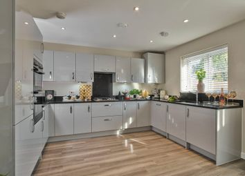 Thumbnail 4 bedroom detached house for sale in Barn Road, Longwick