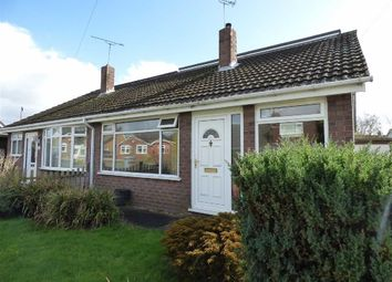 Thumbnail 2 bed semi-detached bungalow for sale in Lordsmill Road, Shavington, Crewe