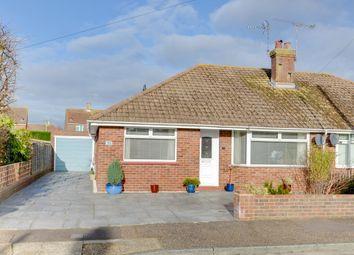 Thumbnail 2 bed semi-detached bungalow for sale in Mendip Close, East Preston, Littlehampton