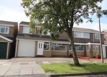 Thumbnail 4 bed semi-detached house for sale in Cranshaw Place, Collingwood Grange, Cramlington