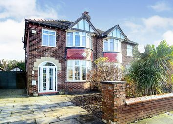 Thumbnail 3 bed semi-detached house for sale in Dingle Grove, Gatley, Cheadle, Greater Manchester
