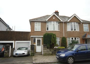 Thumbnail 3 bed semi-detached house to rent in Brynmoor Park, Plymouth