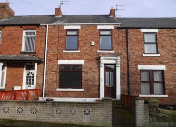 Thumbnail 3 bed terraced house to rent in Pesspool Avenue, Haswell, County Durham