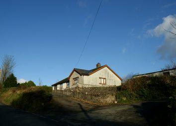 Thumbnail 3 bed detached bungalow for sale in Pontsian, Llandysul