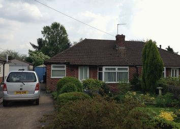 Thumbnail 2 bedroom detached bungalow to rent in Sherwood Road, Stoke Golding, Nuneaton