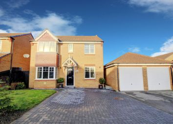 Thumbnail 4 bed detached house for sale in Viola Close, Hartlepool