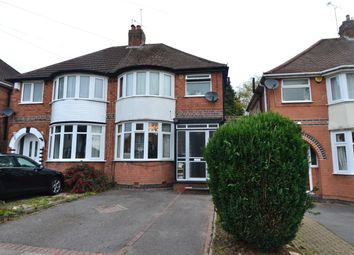 Thumbnail 3 bed semi-detached house for sale in Dowar Road, Rednal, Birmingham