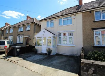 Thumbnail 3 bed semi-detached house for sale in Percival Road, Feltham