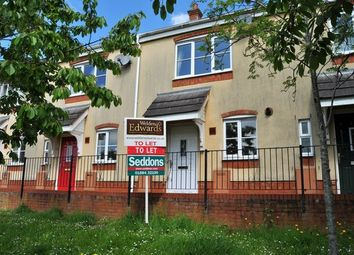 Thumbnail 2 bed terraced house to rent in Highland Park, Uffculme, Cullompton