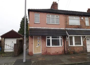 Thumbnail 2 bed end terrace house for sale in Hammond Street, St Helens, Merseyside, Uk