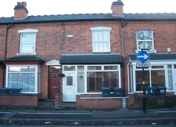Thumbnail 3 bed terraced house to rent in Harvey Road, Birmingham