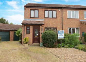Thumbnail 3 bed semi-detached house for sale in Heath Lane, Leasingham, Sleaford