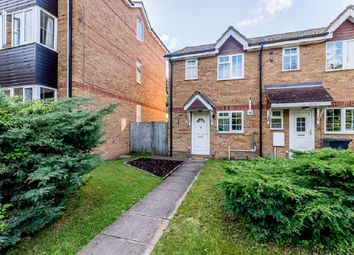 Thumbnail 2 bed end terrace house for sale in Chagny Close, Letchworth Garden City